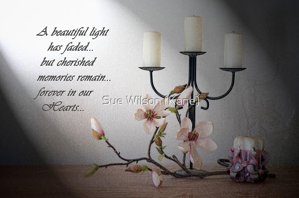 Bereavement Card By Sue Wilson Kane Redbubble