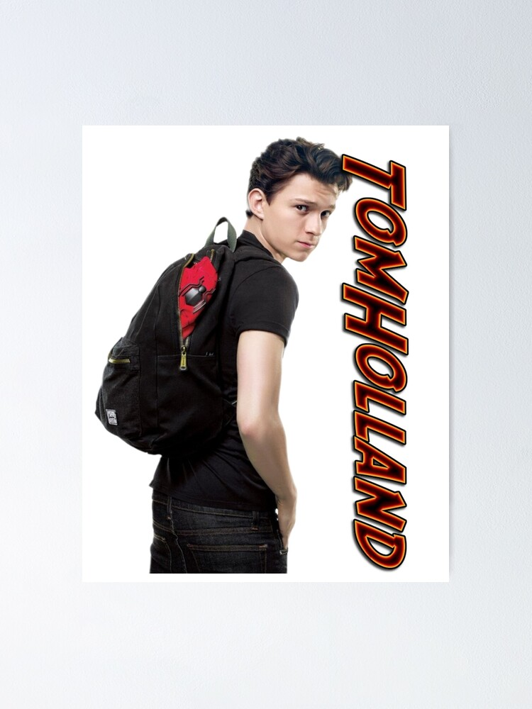 tom holland poster von intoxication redbubble