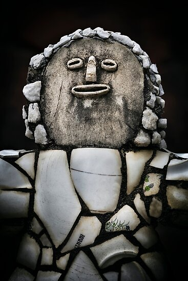 Product image link to buy 'Nek Chand Fantasy # 5' Photographic Print by Glen Allison