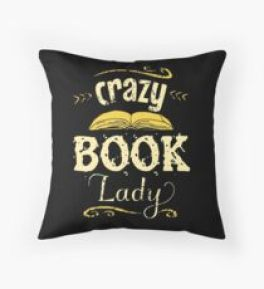 Image result for bookish pillows