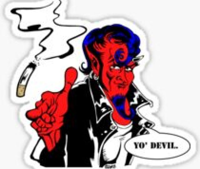 Meet Joe Satan Sticker