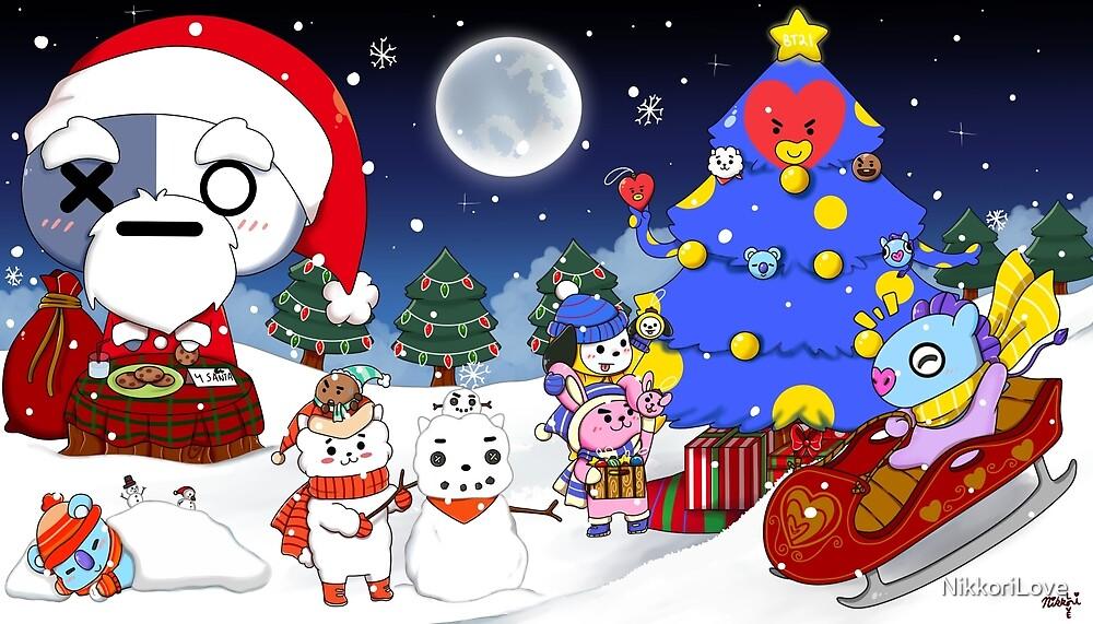 Reindeer Christmas Card Handmade Cards Linocut The