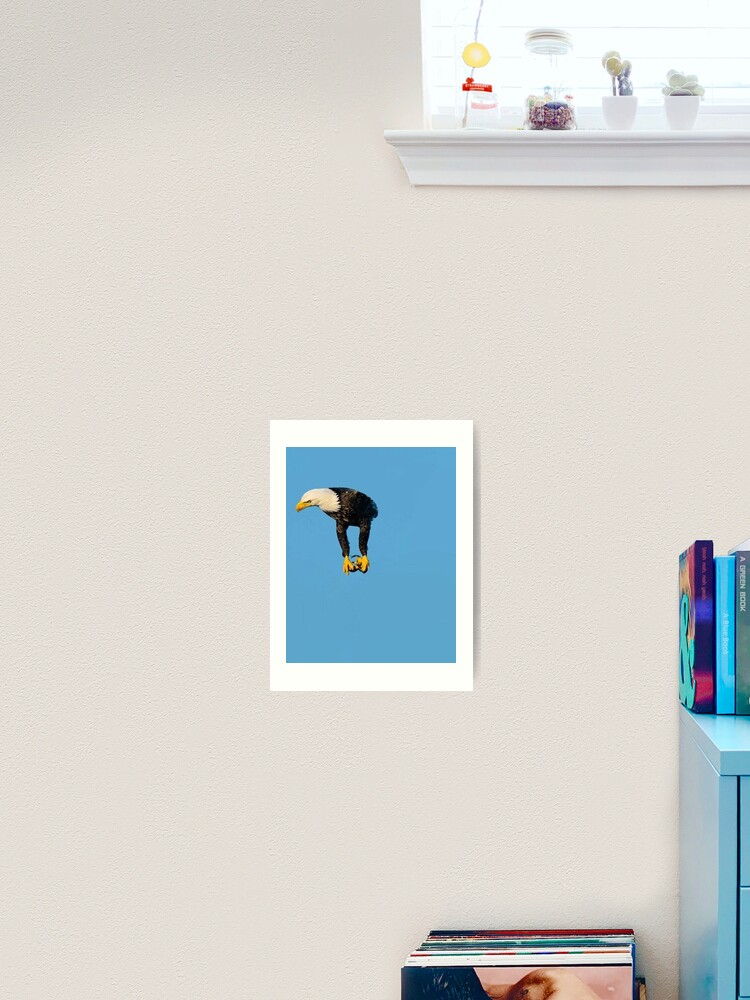 Eagle Without Wings Meme Art Print By Sp00kem Redbubble