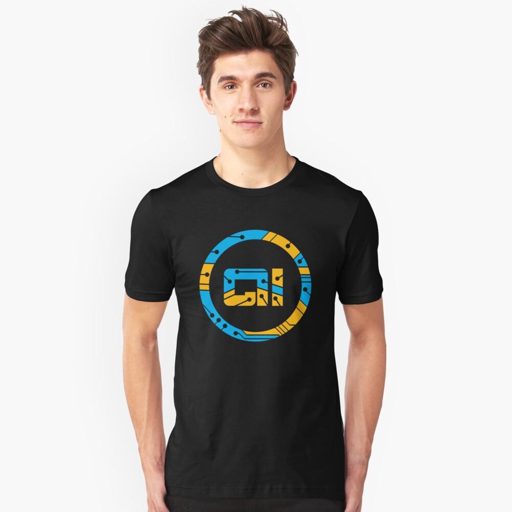 Artificial Intelligence Symbol Unisex T-Shirt Front