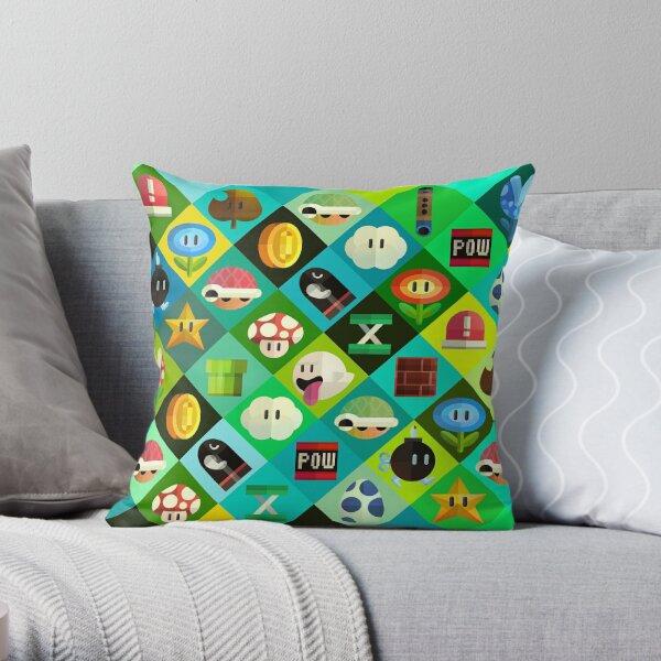 mobel wohnen throw pillow square head design cute kirby character printed sofa cushion dmfdentallab com
