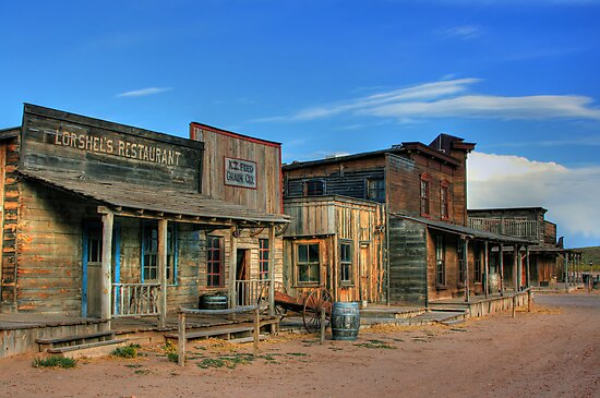 Bonanza Creek Movie Ranch Santa Fe New Mexico