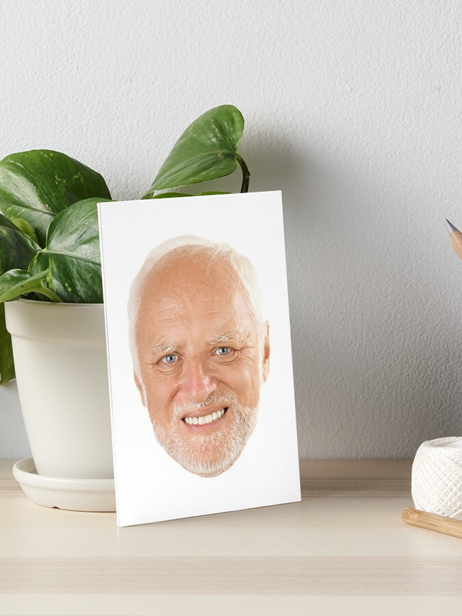 Hide The Pain Harold Hd Blank Template Imgflip