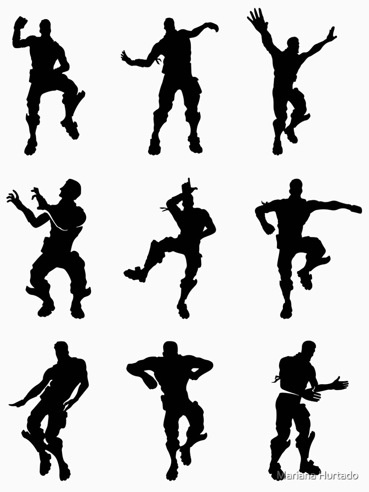 Fortnite Dance Moves Silhouette