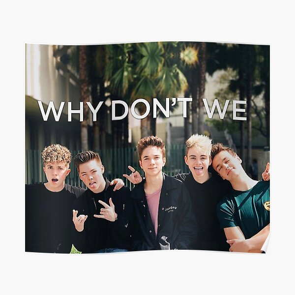we dont we posters redbubble