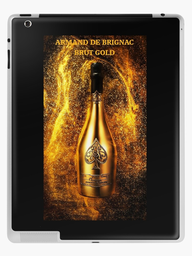 Champagne Armand De Brignac Brut Ace Of Spades Gold Jay Z S Beyonce Ipad Case Skin By Glyn123 Redbubble