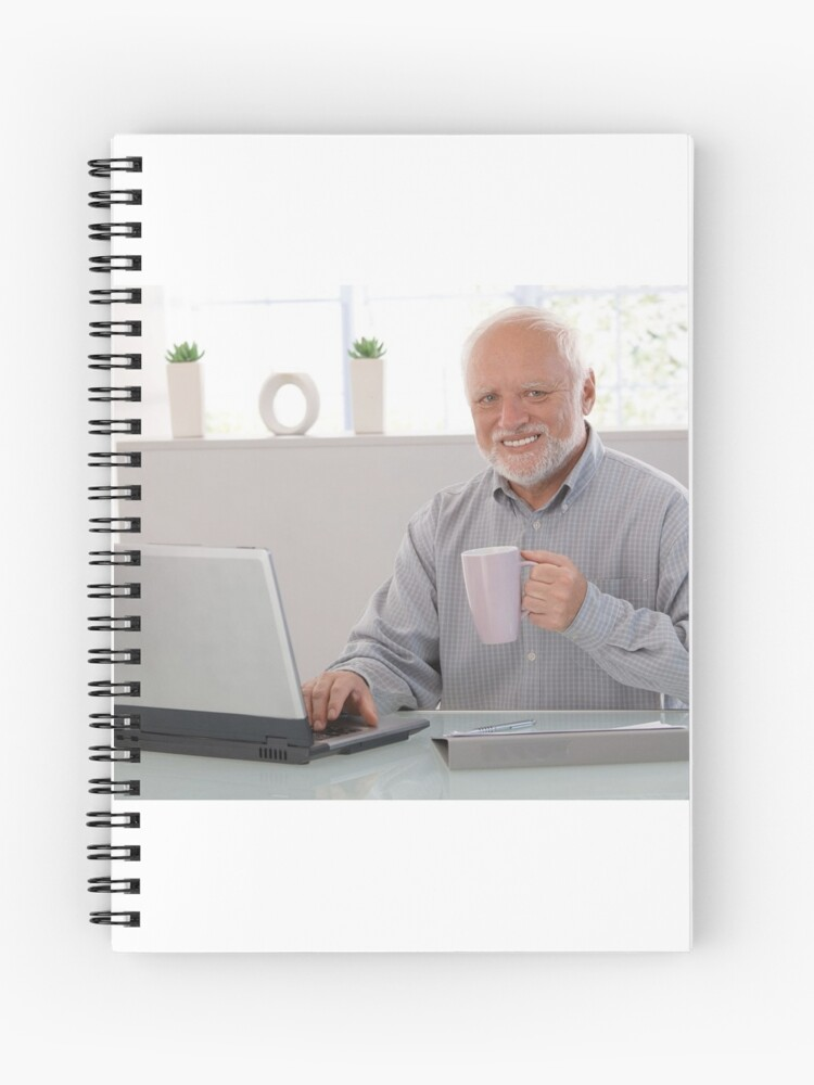 Hide The Pain Harold Notebook Meme Of The Decade Journal For