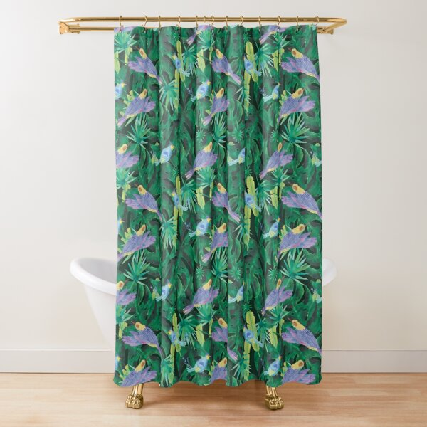 the magical peacock shower curtains redbubble