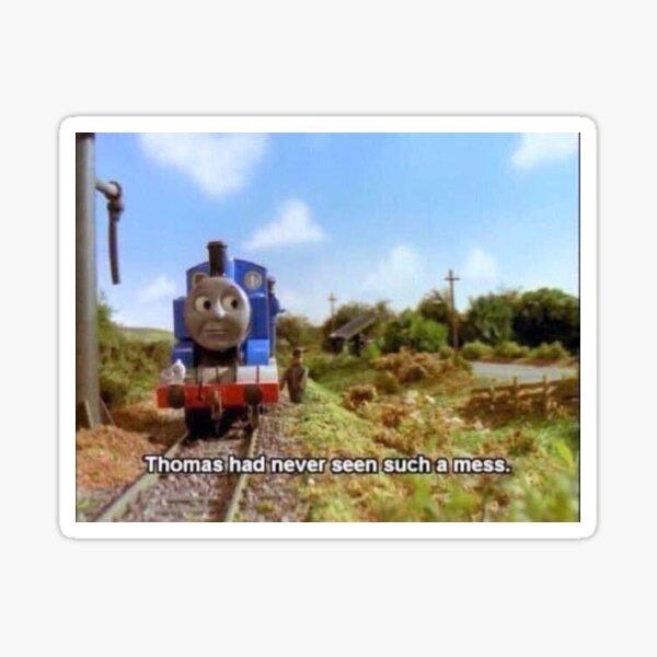 Thomas The Train Stickers Redbubble
