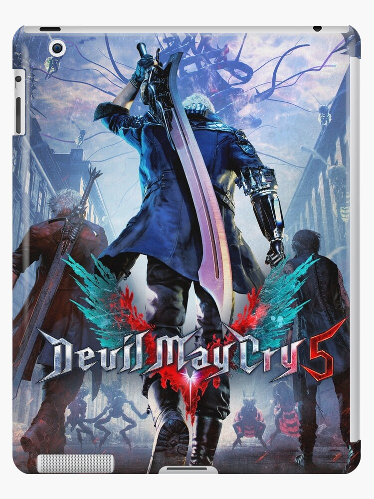 devil may cry 5 poster 2 nero dante v ipad hulle skin von angelialucis redbubble