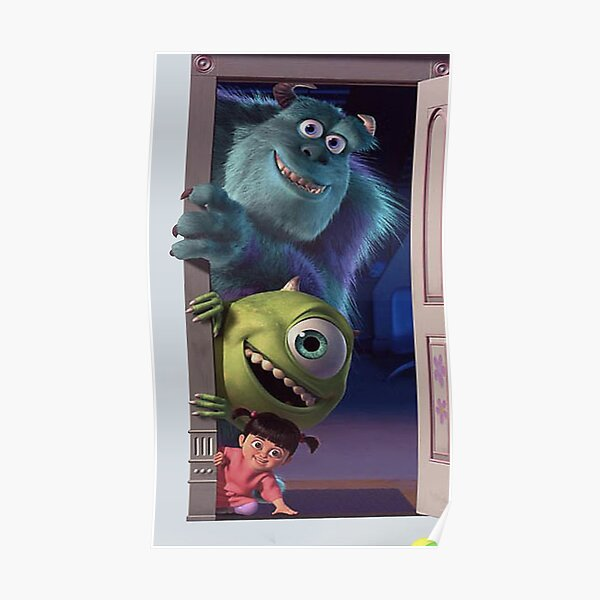 Monster Inc Posters Redbubble