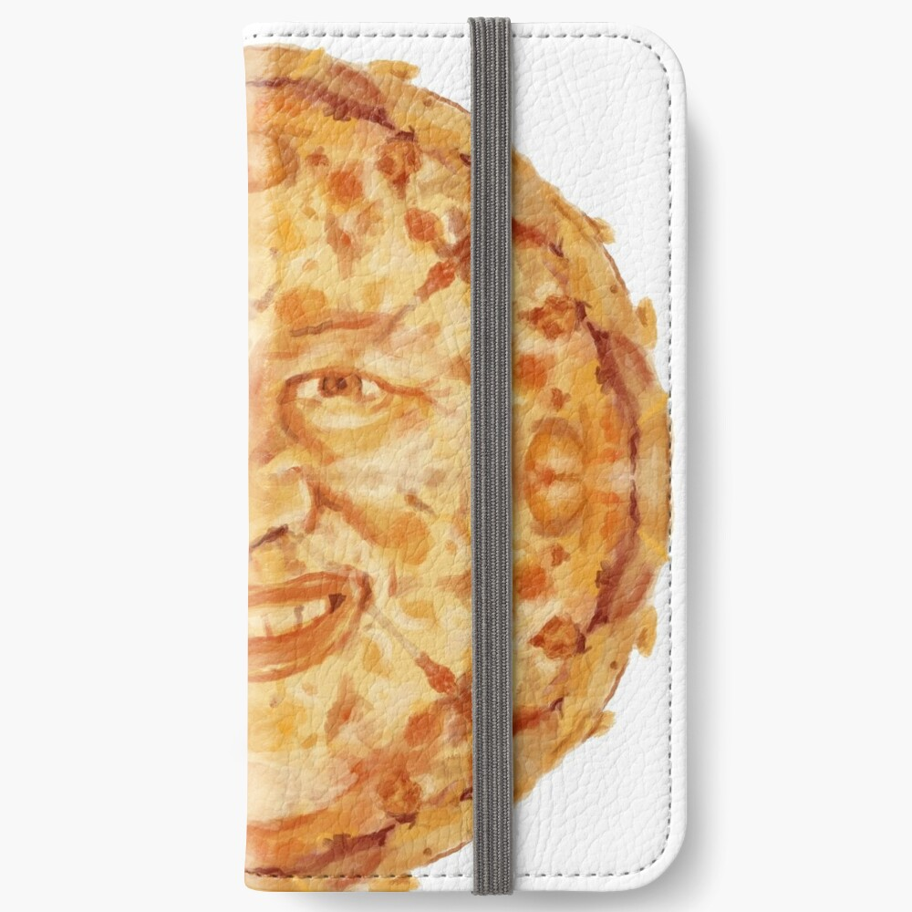 Hide The Pain Harold Pizza Face Iphone Wallet By Danart970