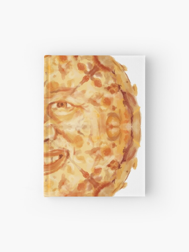 Hide The Pain Harold Pizza Face Hardcover Journal By Danart970