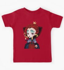 Red Queen  T Shirts   Redbubble Queen of Hearts Kids Tee