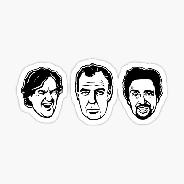 Top Gear Stickers Redbubble