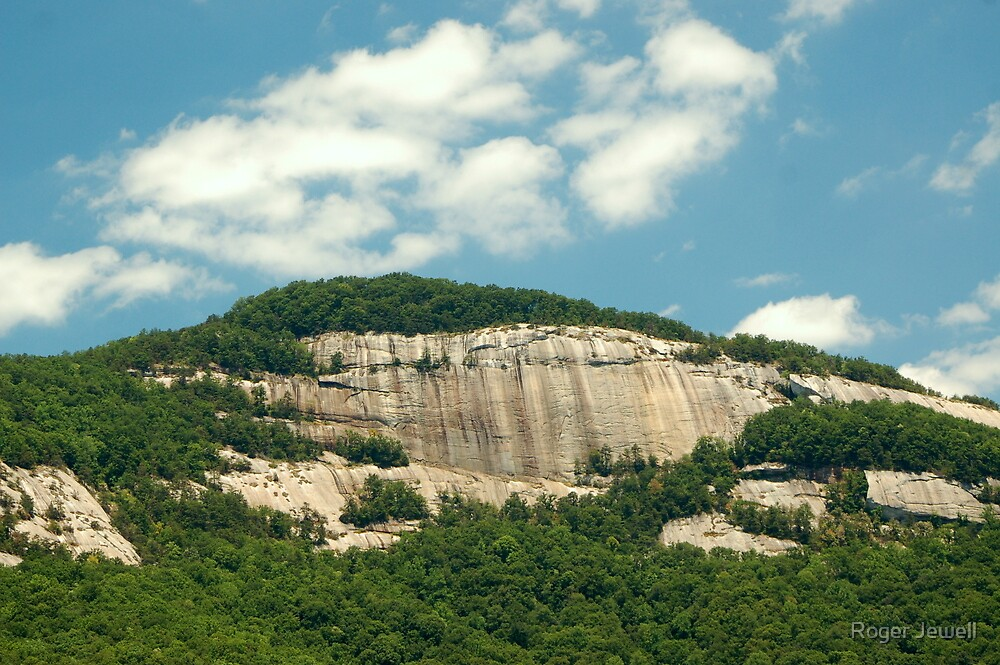 Table Rock Mountain South Carolina USA By Roger Jewell