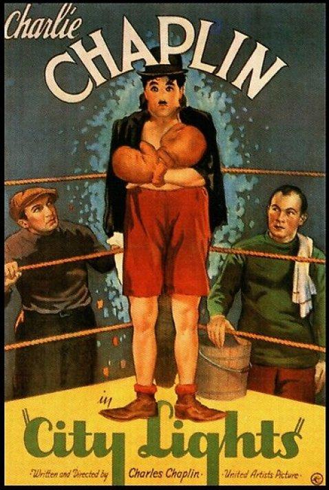 Poster Image  Chaplin's City lights