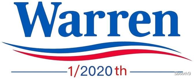Image result for elizabeth warren 1/2020
