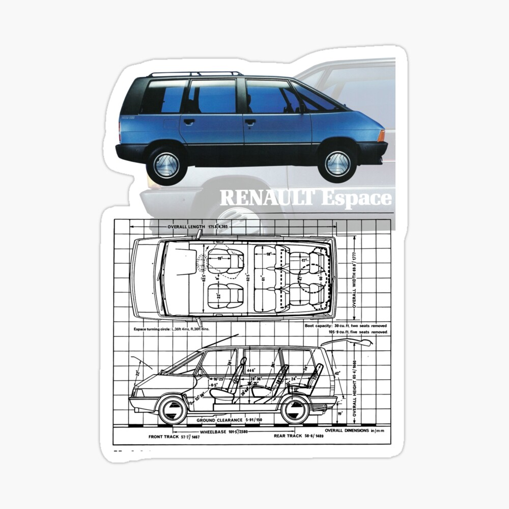 renault espace kids t shirt by throwbackmotors redbubble