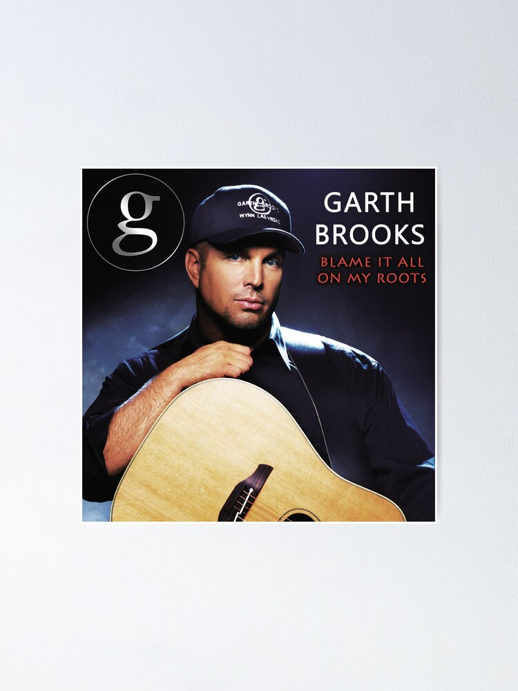 garth brooks tour 2019 gading poster by roma648 redbubble