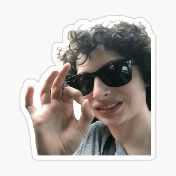Finn Wolfhard Stickers Redbubble