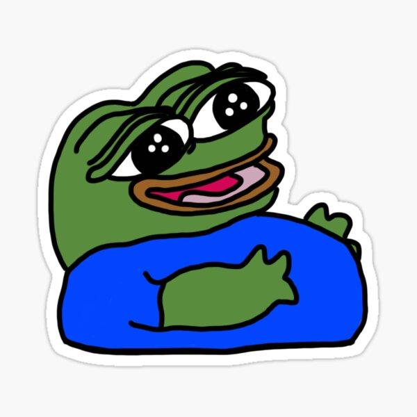 Pepe Fat Emote Sticker Sticker By Billnyeisdope Redbubble