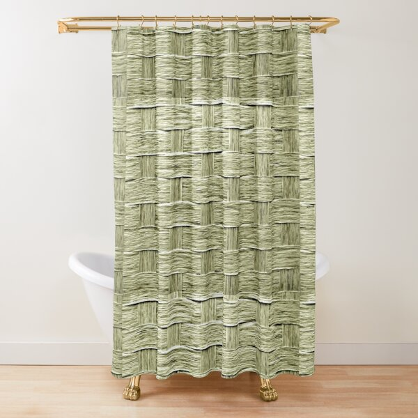 bamboo screen shower curtains redbubble