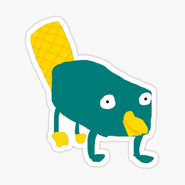 Perry The Platypus Stickers Redbubble