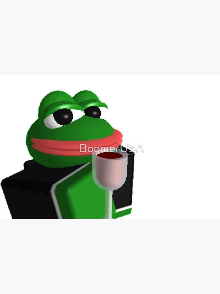 Pepe Roblox Meme Laptop Skin By Boomerusa Redbubble