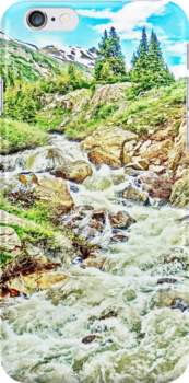 Roaring Fork River, Headwaters No. 3 by 32DARTS