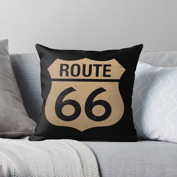 route 66 pillows cushions redbubble