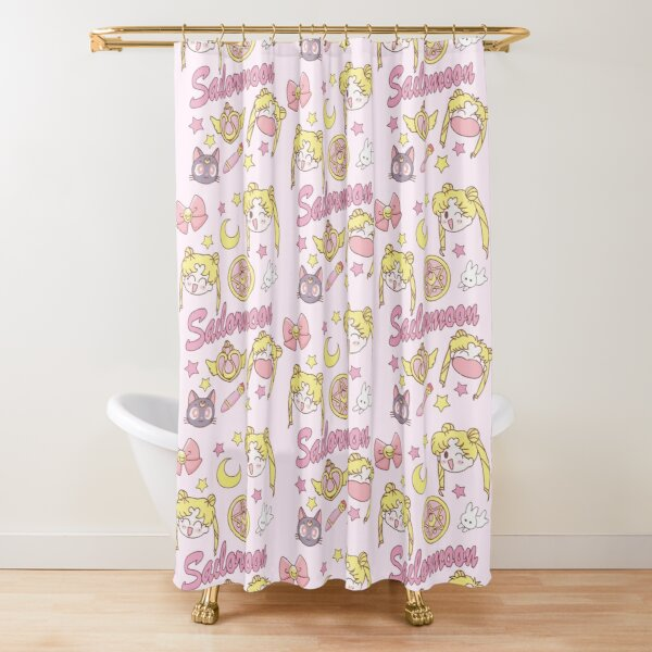 magical girl shower curtains redbubble