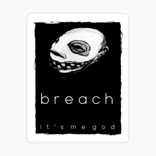 "Breach - 'It's Me God'"" Duvet Cover by JDFRCLGH 