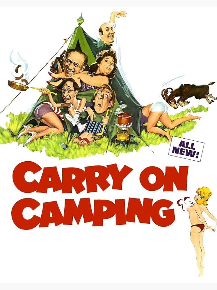 """Carry on Camping"""" Art Board Print by attractivedecoy 