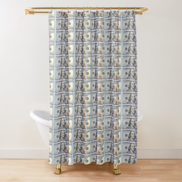 cash money shower curtains redbubble