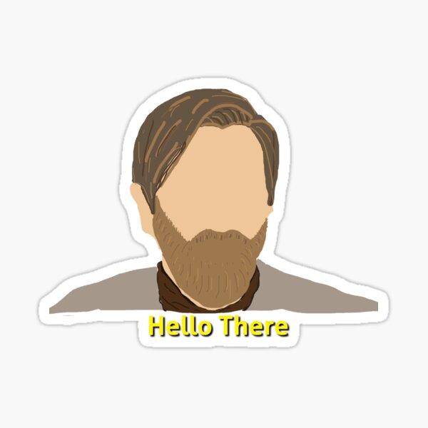 Obi Wan Kenobi Stickers Redbubble