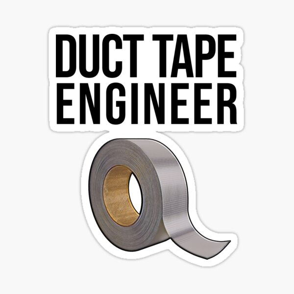 Duct Tape Stickers Redbubble