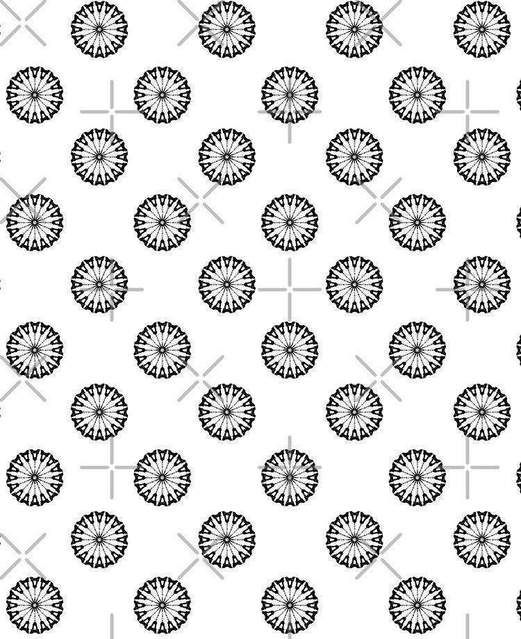 coque et skin adhesive ipad fond d ecran fleur eiffel tour noir sur blanc par funkyworm redbubble