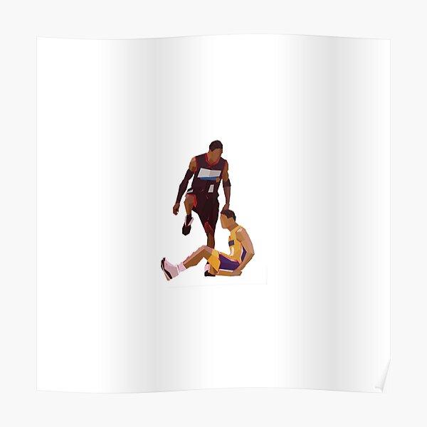 allen iverson step over poster von sportsfan2020 redbubble