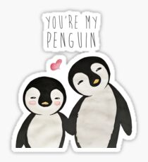I Love Penguins Stickers Redbubble