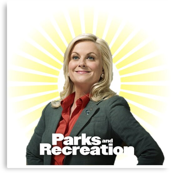Parks And Recreation Leslie Knope Canvas Prints By