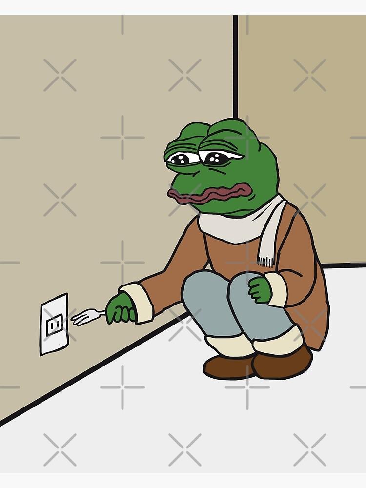 Pepe The Frog Meme Cynical Sarcastic Sad And Dramatic Rare