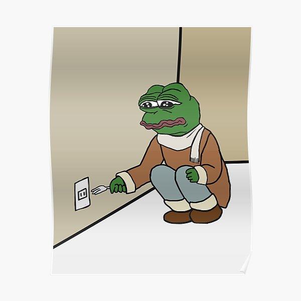 Pepe The Frog Meme Cynical Sarcastic Sad Rare Pepethefrog With