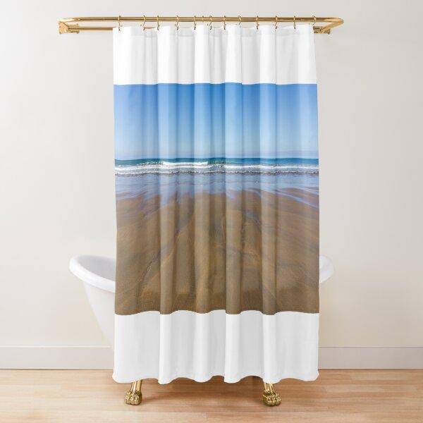 seascape shower curtains redbubble