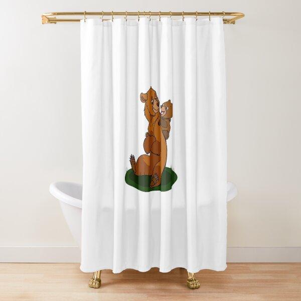 brother bear shower curtain by autlu redbubble