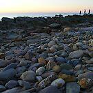 Sunset fishers, Hallett Cove by Kablwerk